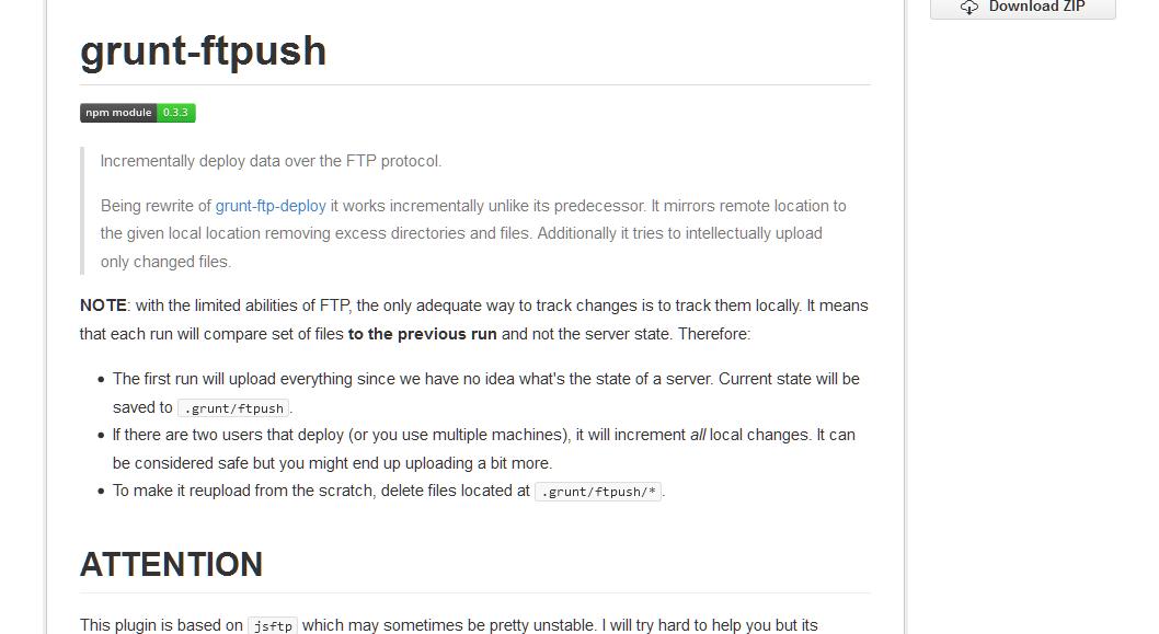 inossidabile-grunt-ftpush · GitHub