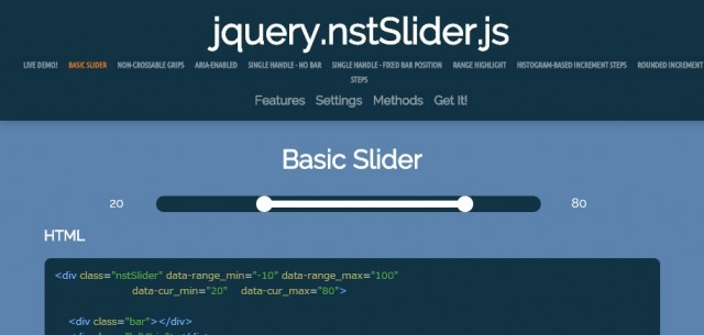 jquery.nstSlider.js   Fully customizable sliders  Single Double handles  Touch enabled  and much more